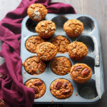 Pumpkin spiced muffins