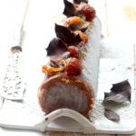 Ma bûche glacée à l'amande blanche, spéculoos et crème de marron – Version géante ou mini !