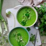Soupe crue pour débutants (ou pas)- easy, healthy, detox!
