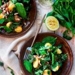 Salade de pommes de terre aux verdures de saison – et mon extraordinaire mayonnaise végétale